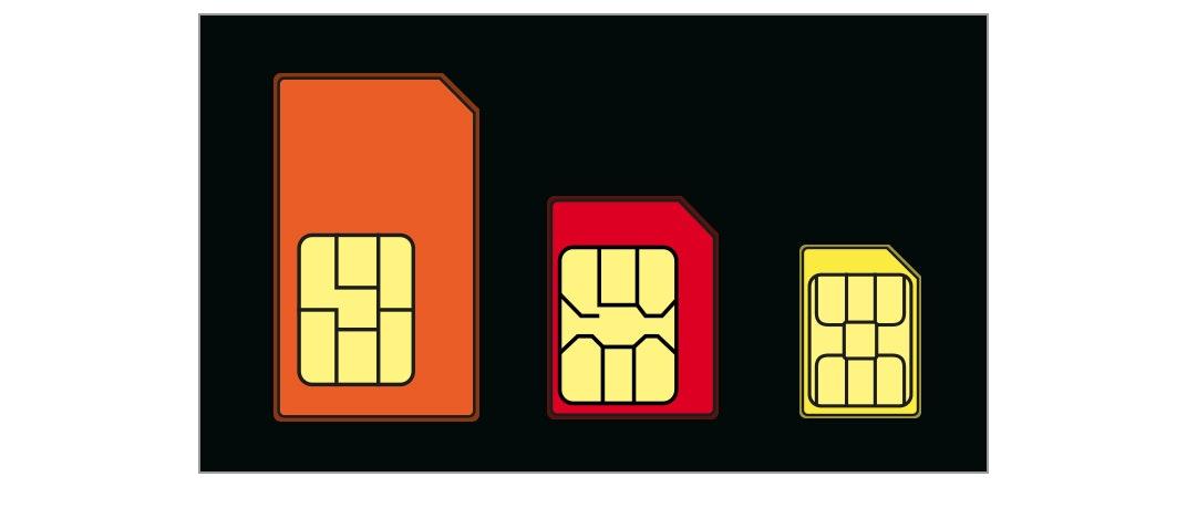 Alle SIM-Karten-Formate auf einem Blick
